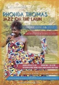 Rhonda Thomas performs at Callanwolde's Jazz On The Lawn @ Callanwolde Fine Arts Center   Atlanta   Georgia   United States